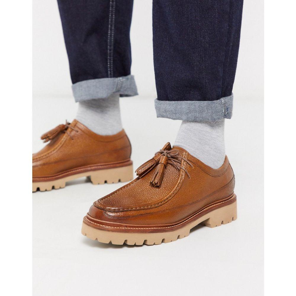 グレンソン Grenson メンズ シューズ・靴 【bennett desert shoes in tan leather】Tan