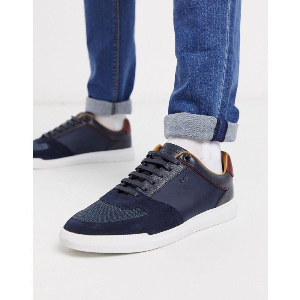 ヒューゴ ボス BOSS メンズ スニーカー ローカット シューズ・靴【Business Cosmopool low top trainers】Blue