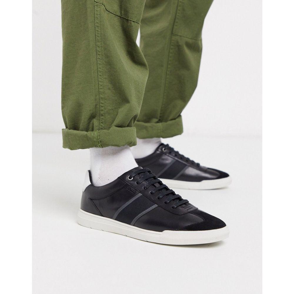ヒューゴ ボス BOSS メンズ スニーカー シューズ・靴【Business Cosmopool trainers】Black