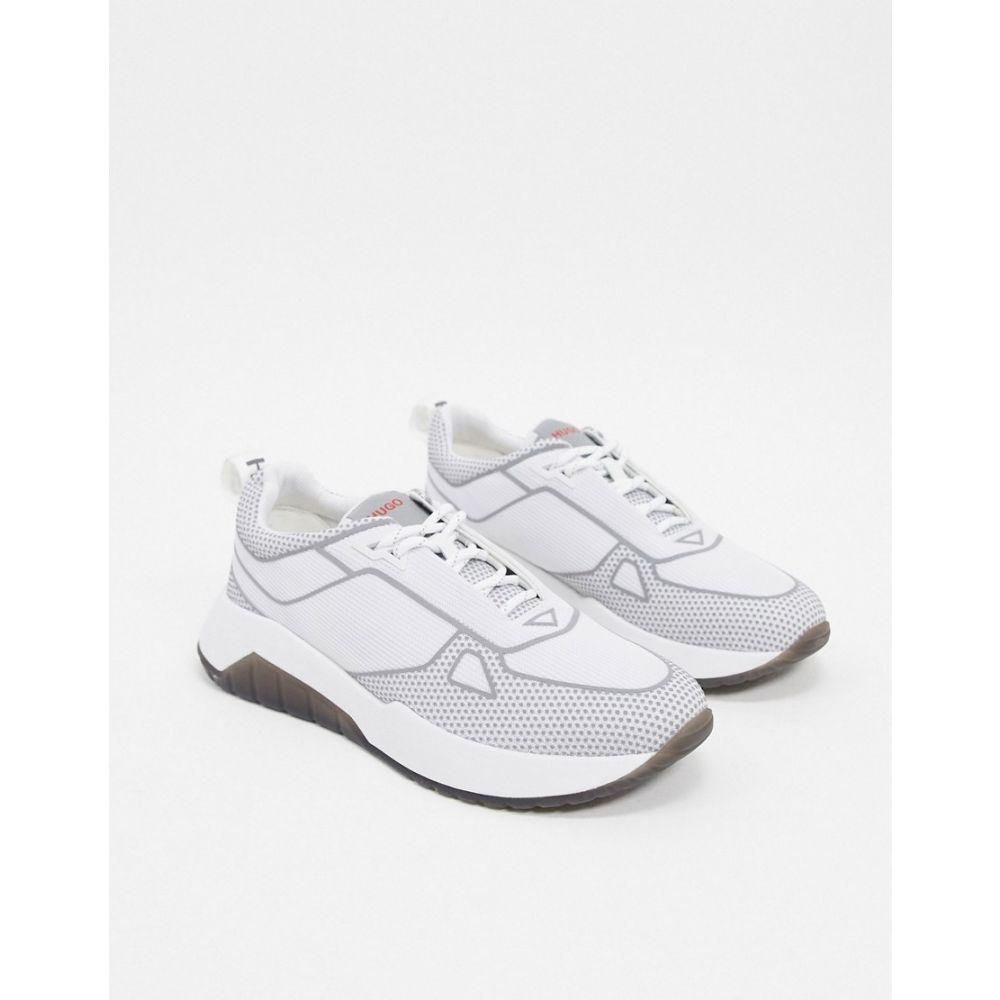 ヒューゴ ボス BOSS メンズ スニーカー シューズ・靴【HUGO Atom trainers】White