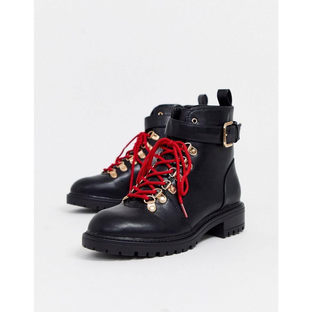 ルビ Rubi レディース ハイキング・登山 レースアップブーツ シューズ・靴【lace up hiking boots】Black