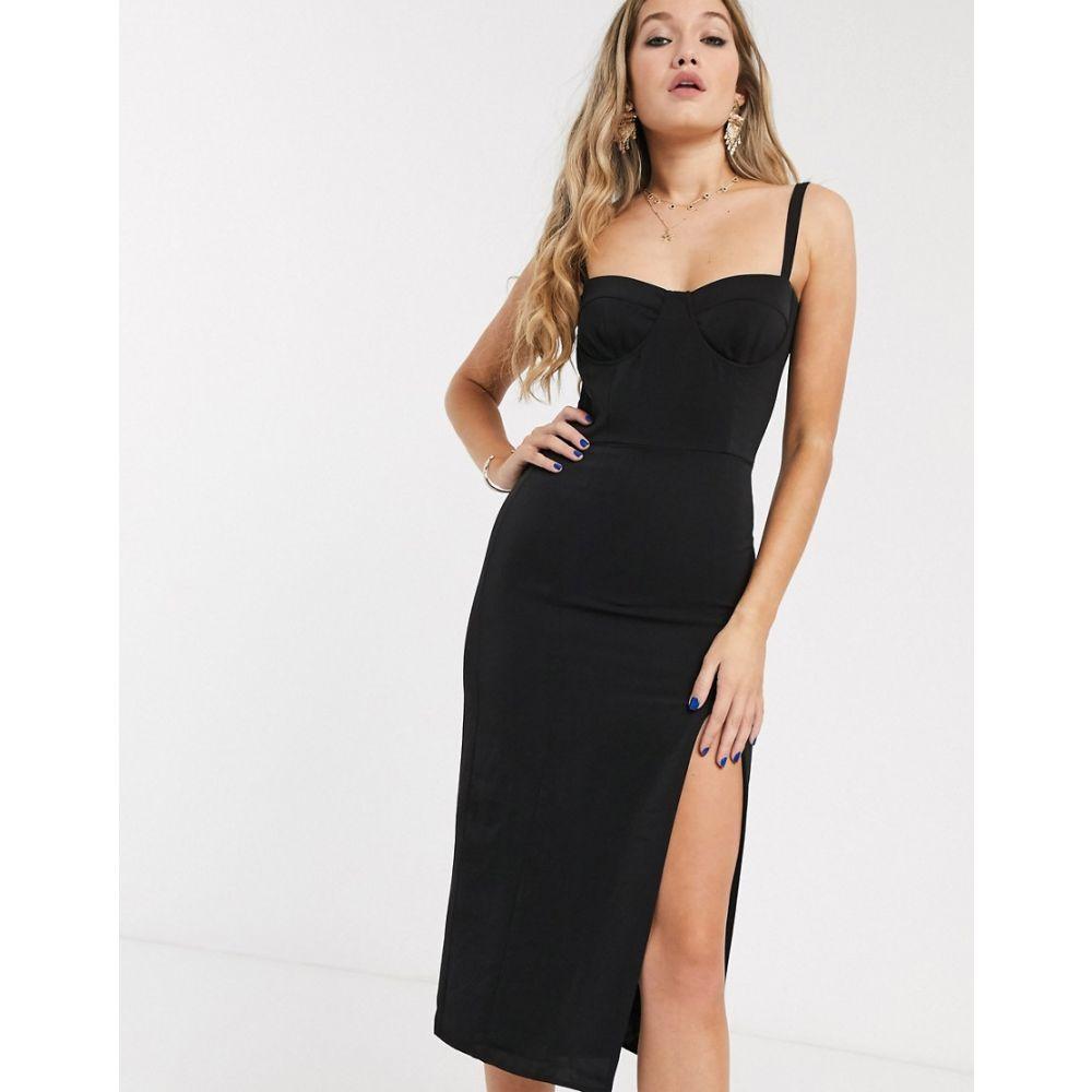 キャプレット Capulet レディース ワンピース ビスチェ ミドル丈 ワンピース・ドレス【ariella bustier midi dress】Black