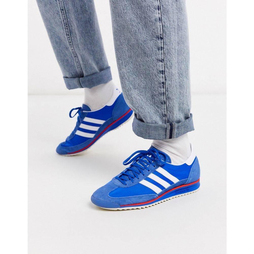 アディダス adidas Originals メンズ スニーカー シューズ・靴【SL 72 trainers in blue】Blue