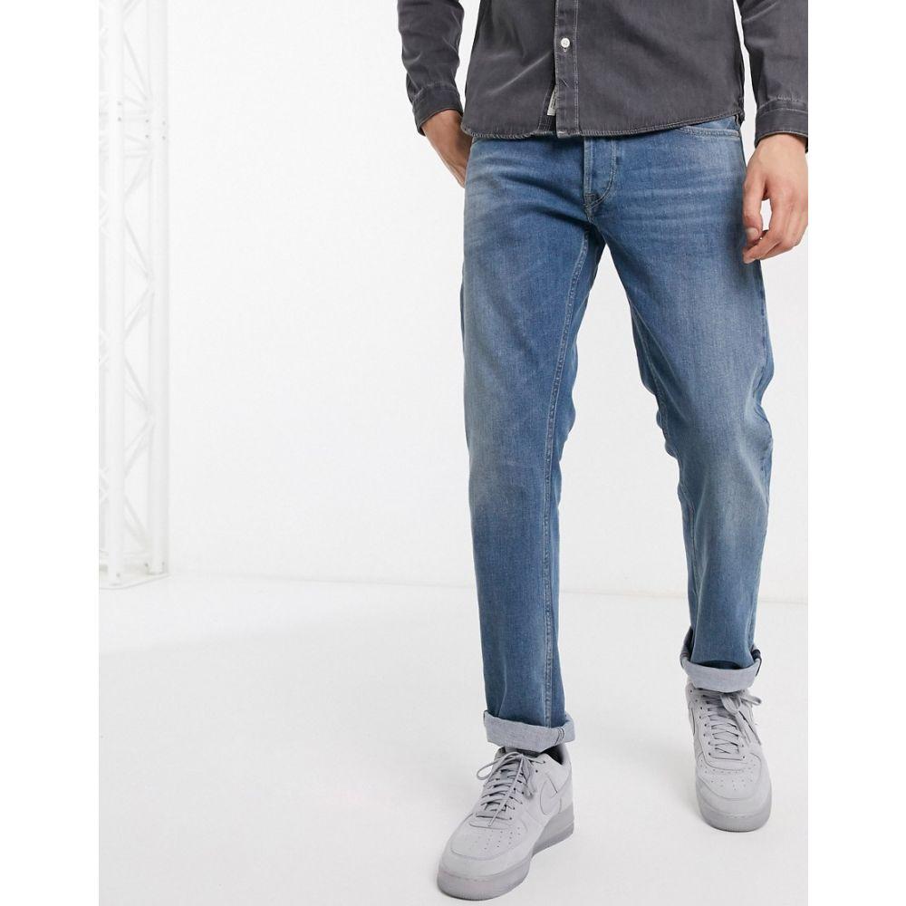 リプレイ Replay メンズ ジーンズ・デニム ボトムス・パンツ【Grover straight fit jeans in mid wash】Mid wash
