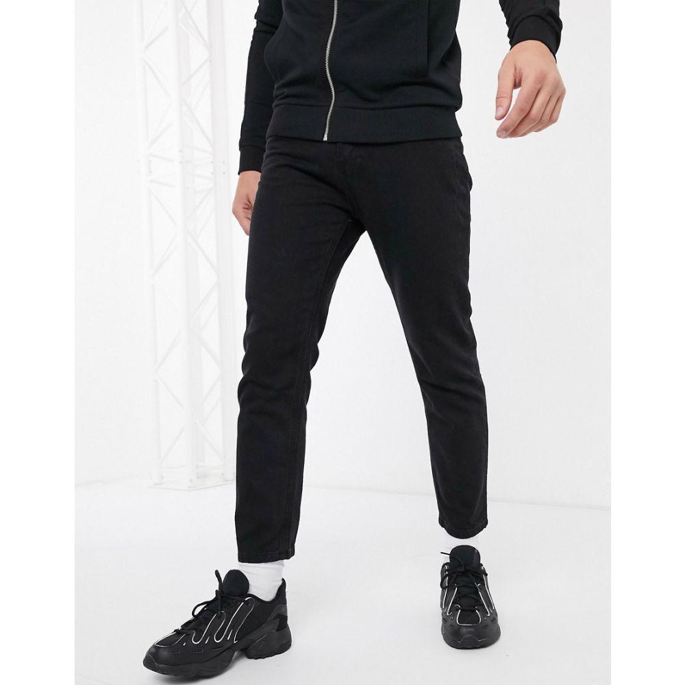 レリジョン Religion メンズ ジーンズ・デニム ボトムス・パンツ【Kick straight fit jeans in black】Jet black