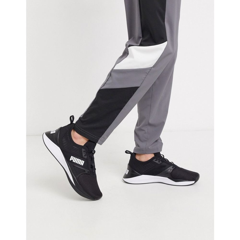 プーマ Puma メンズ フィットネス・トレーニング シューズ・靴【Training Jaab XT trainers in black】Black