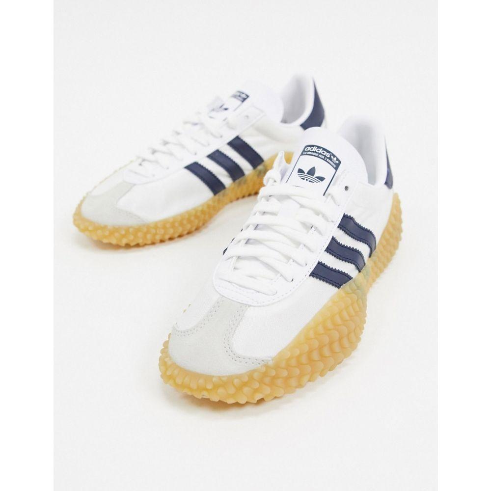 アディダス adidas Originals メンズ スニーカー シューズ・靴【adidas Country X Kamanda trainer in white】White