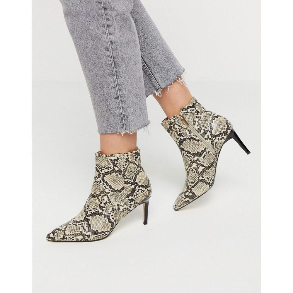 オアシス Oasis レディース ブーツ ショートブーツ シューズ・靴【ankle boot in animal print】Animal