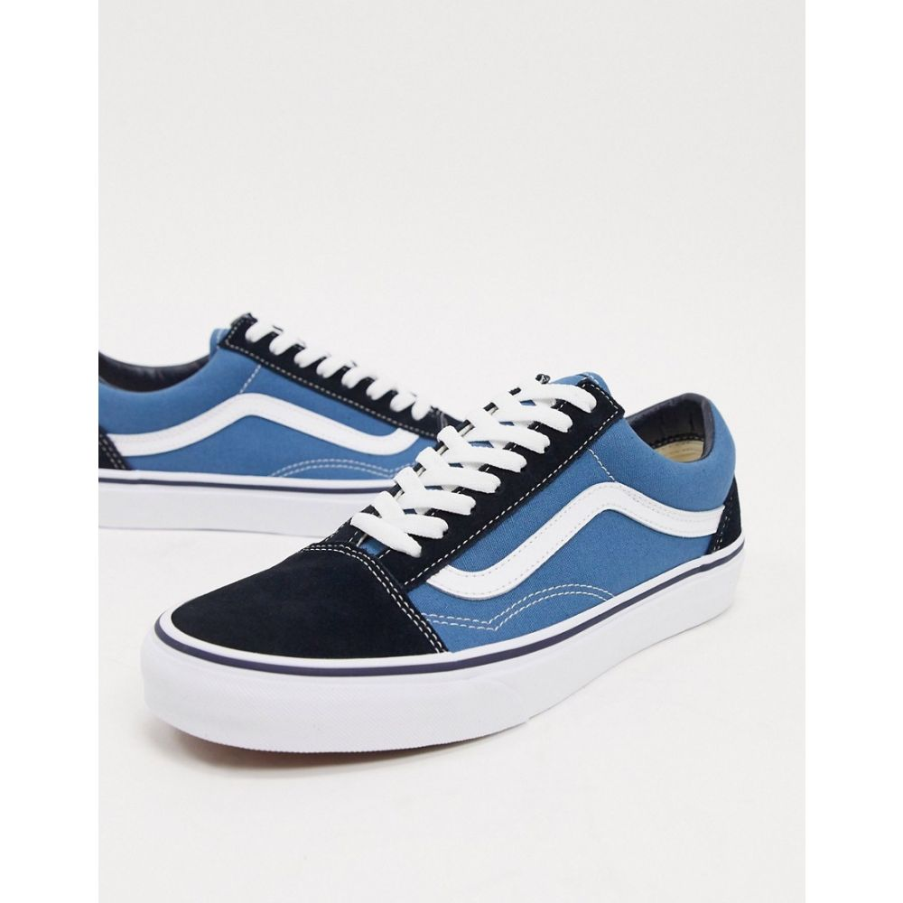 ヴァンズ Vans メンズ スニーカー シューズ・靴【Old Skool Trainers in Blue】Blue
