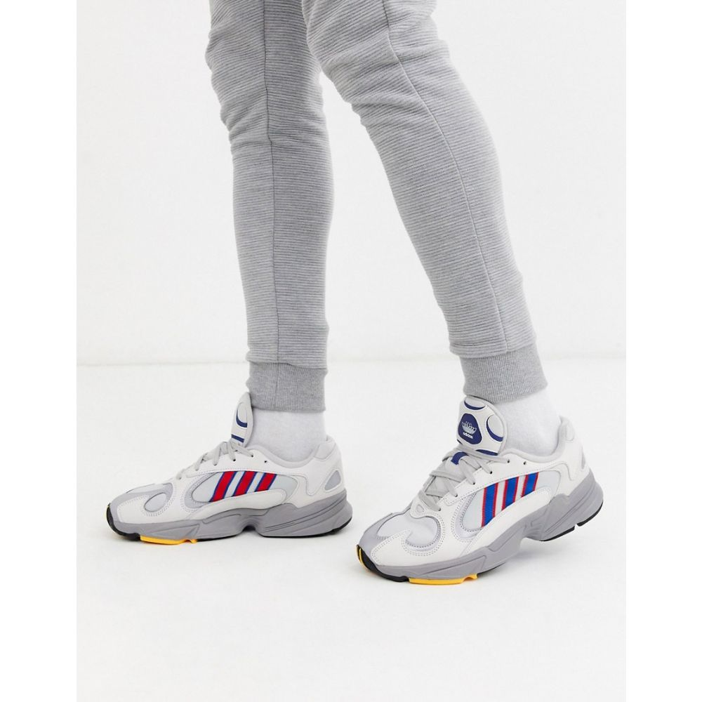 アディダス adidas Originals メンズ スニーカー シューズ・靴【adidas originals Yung-1 trainers】Grey