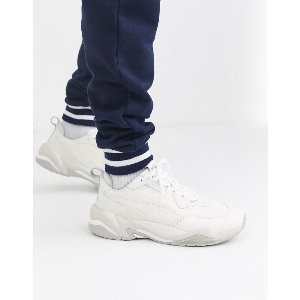 プーマ Puma メンズ スニーカー シューズ・靴【thunder desert trainer】White/grey