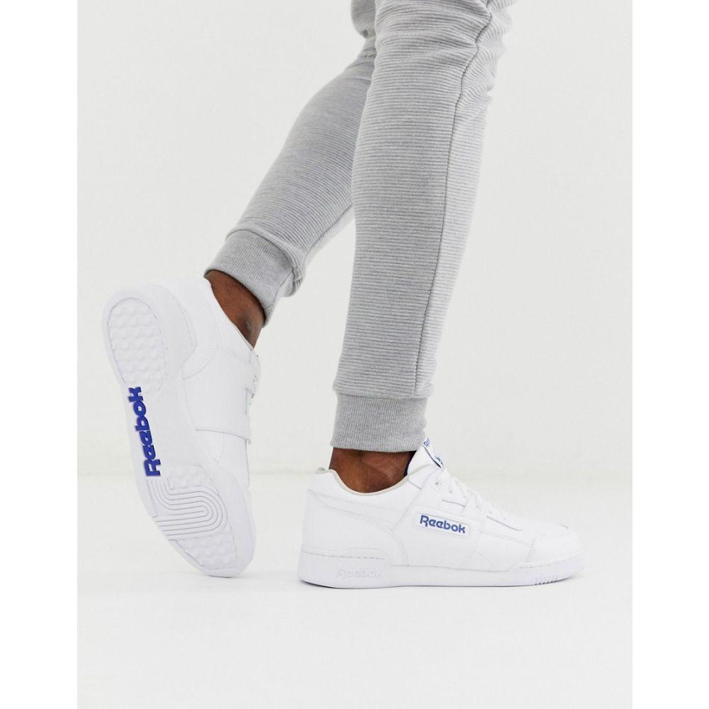 リーボック Reebok メンズ スニーカー シューズ・靴【Club C 85 trainers in white】Wh - white