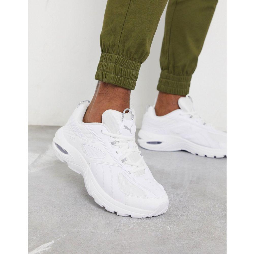 プーマ Puma メンズ スニーカー シューズ・靴【Cell Speed reflective trainers in white】White