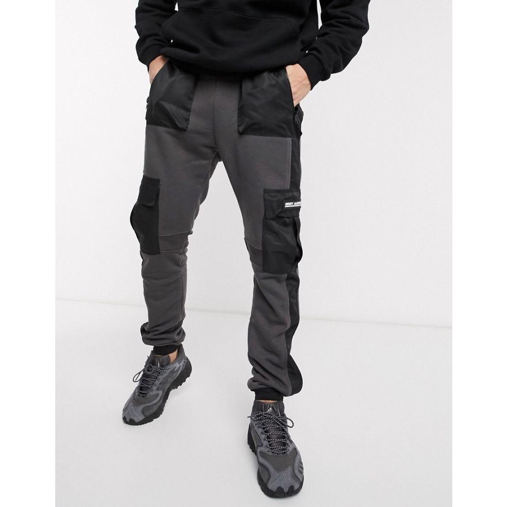 ナイト アディクト Night Addict メンズ ジョガーパンツ ボトムス・パンツ【skinny fit cargo joggers】Grey
