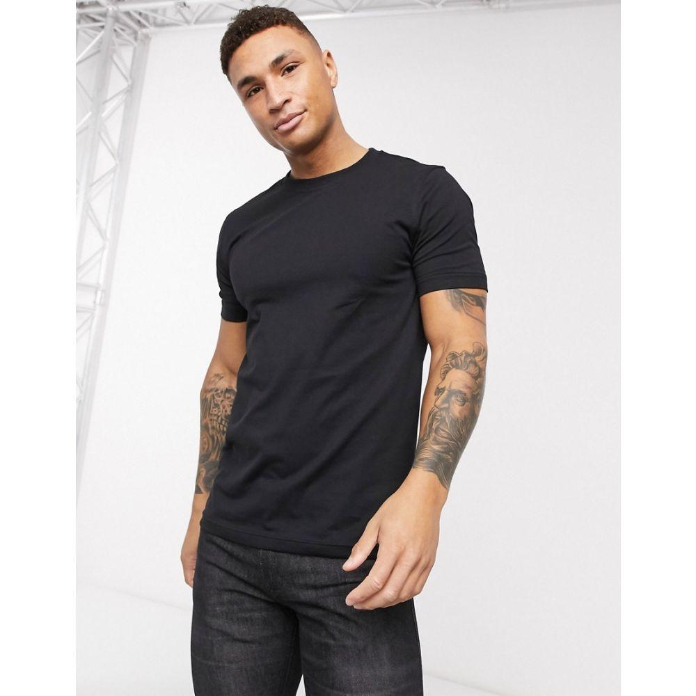 ヒューゴ ボス BOSS メンズ Tシャツ トップス【TChip t-shirt】Black