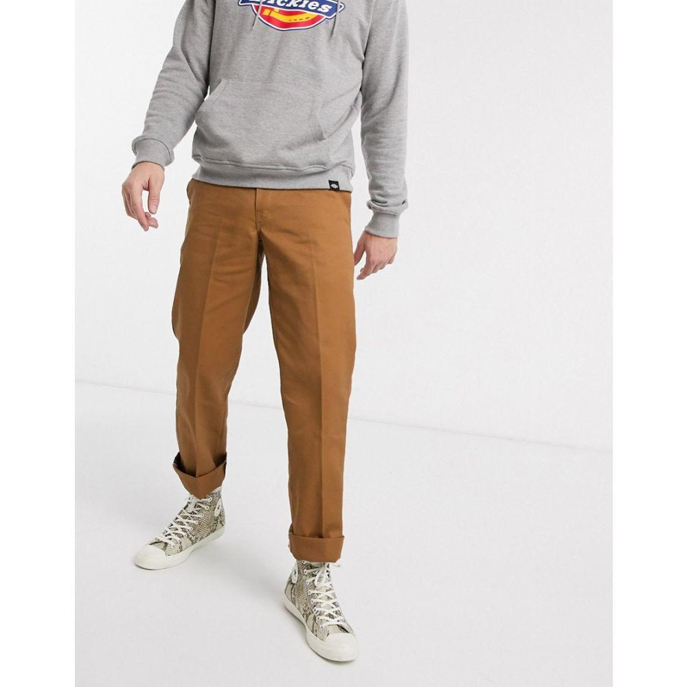 ディッキーズ Dickies メンズ ボトムス・パンツ ワークパンツ【Original 874 work pant in brown】Brown duck