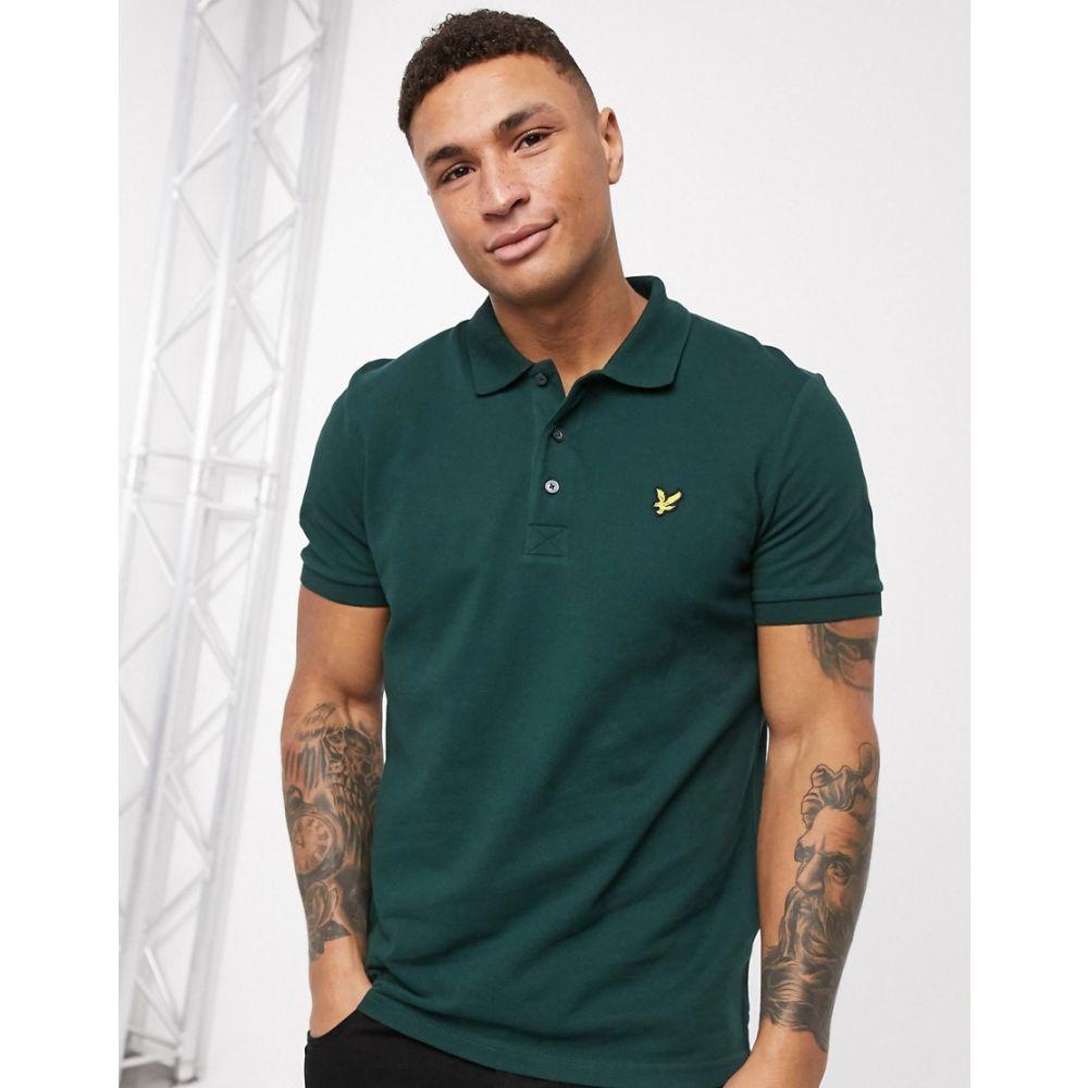 ライル アンド スコット Lyle & Scott メンズ ポロシャツ トップス【plain polo shirt】Green