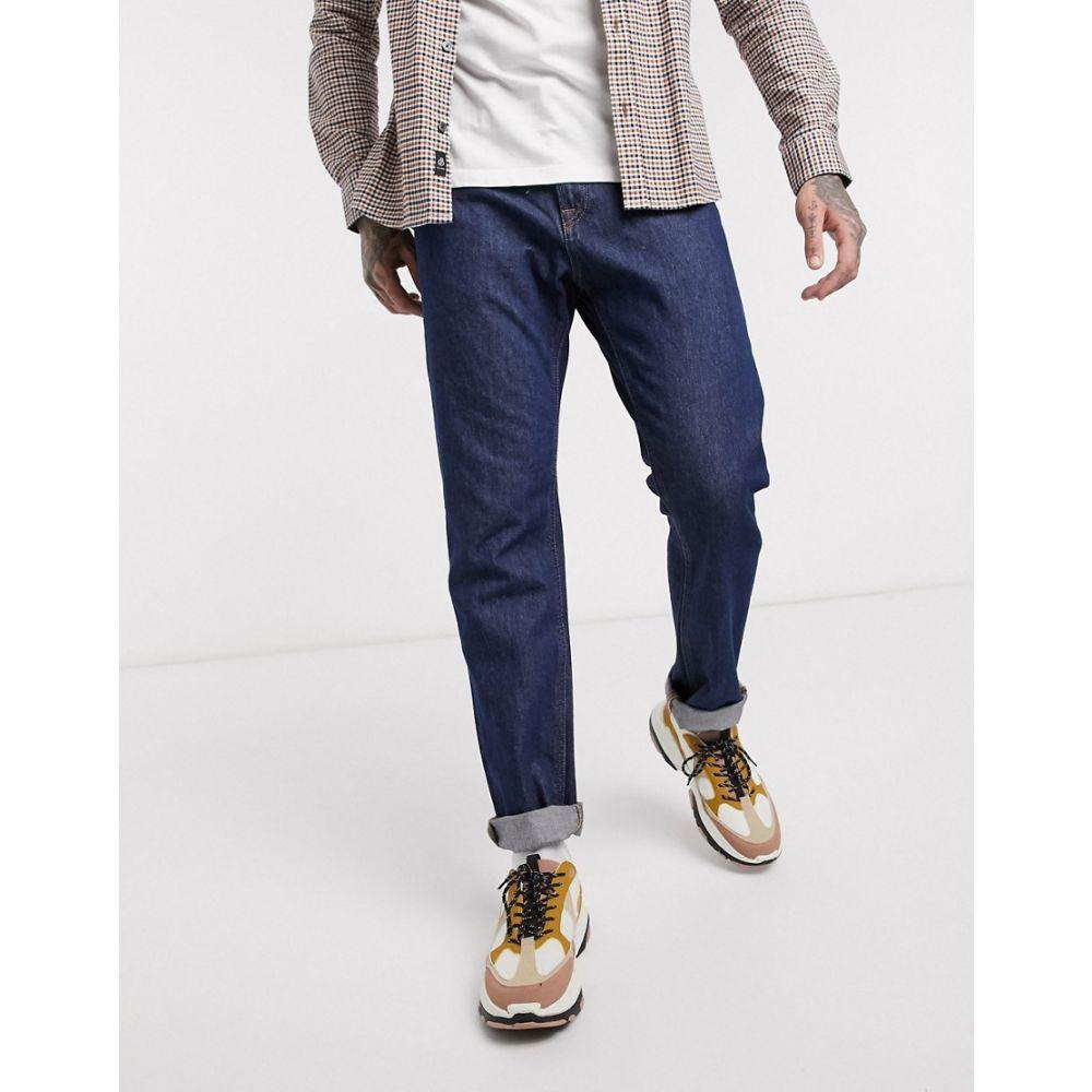 ジャック アンド ジョーンズ Jack & Jones メンズ ジーンズ・デニム ボトムス・パンツ【Intelligence straight fit jeans in vintage rinse wash】Blue denim
