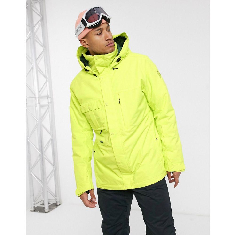 ビラボン メンズ スキー・スノーボード アウター Green 【サイズ交換無料】 ビラボン Billabong メンズ スキー・スノーボード ジャケット アウター【Shadow ski jacket in neon green】Green