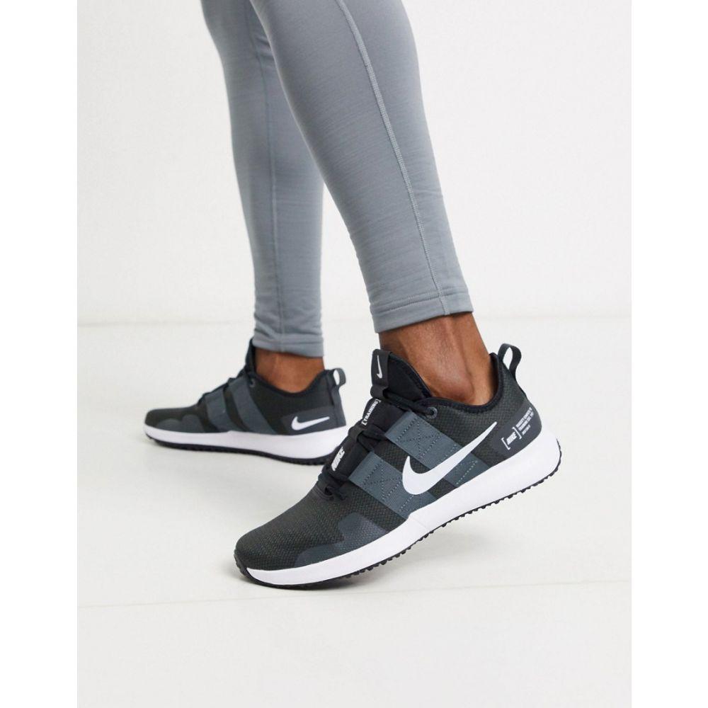ナイキ Nike Training メンズ スニーカー シューズ・靴【Varsity Compete trainers in black】Black