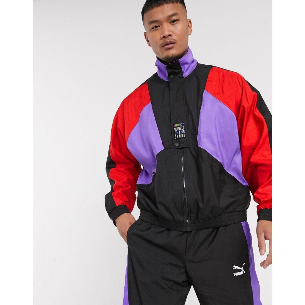 プーマ Puma メンズ ジャージ アウター【TFS OG Half Zip Track Jacket Black】Black