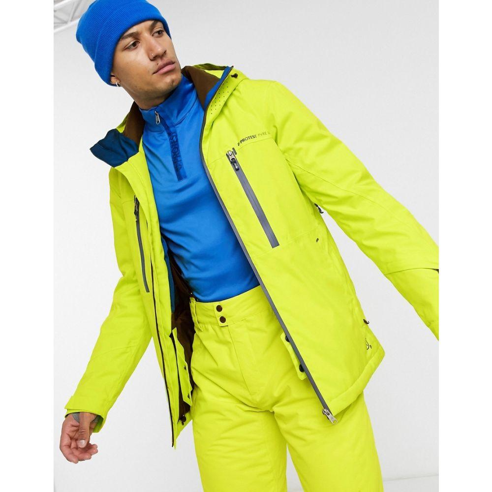 プロテスト Protest メンズ スキー・スノーボード ジャケット アウター【Clavin ski jacket in yellow】Yellow