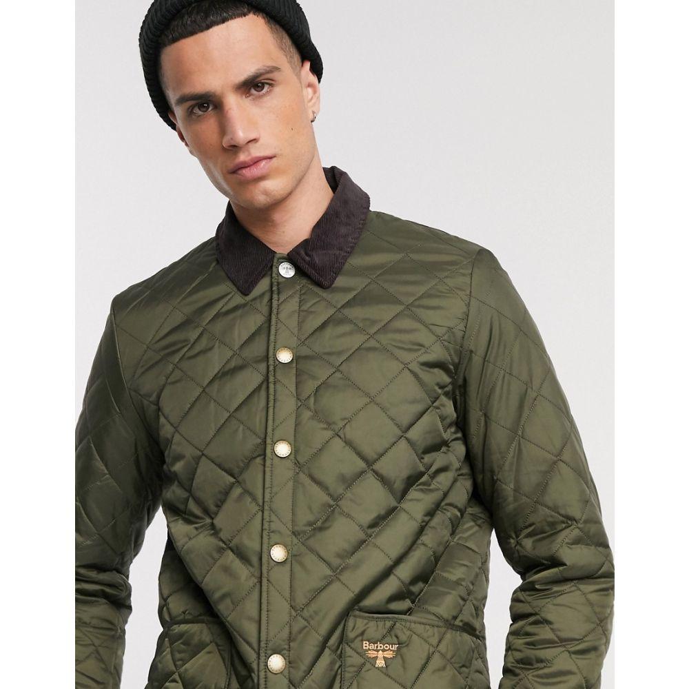バブアー Barbour Beacon メンズ ジャケット アウター【Starling quilted jacket in olive】Green