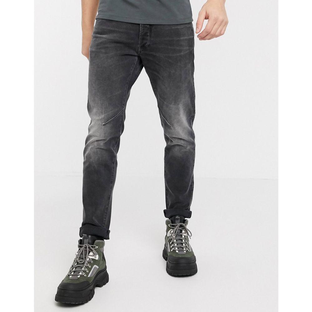 ジースター ロゥ G-Star メンズ ジーンズ・デニム ボトムス・パンツ【D-Staq slim fit 5 pocket jeans in grey】Grey wash