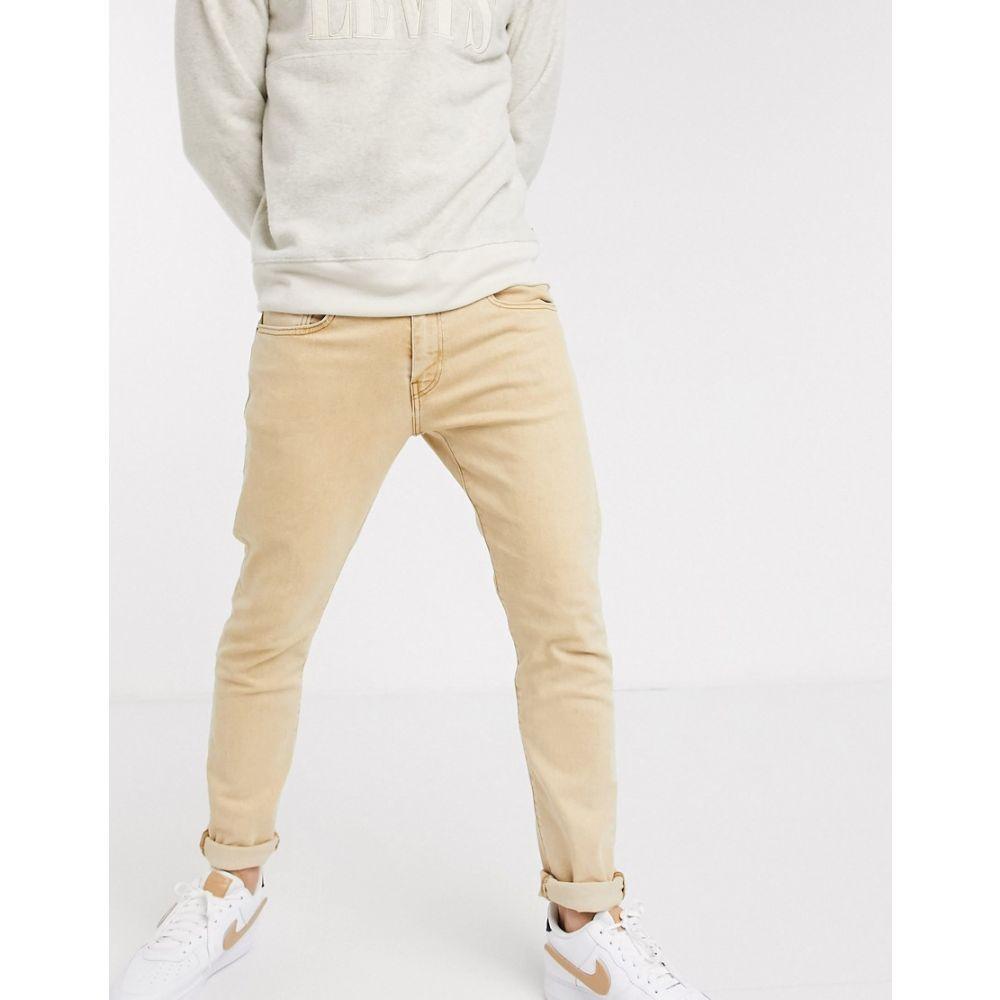 リーバイス Levi's メンズ ジーンズ・デニム ボトムス・パンツ【512 slim tapered fit jeans in desert boots stonewash tan】Desert boots stonewa