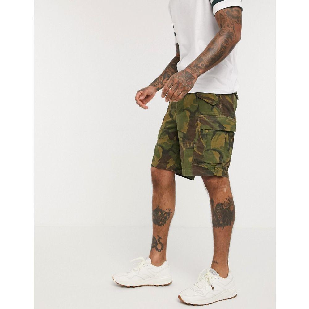 ラルフ ローレン Polo Ralph Lauren メンズ ショートパンツ カーゴ ボトムス・パンツ【camo print cargo shorts in green】British elmwood camo