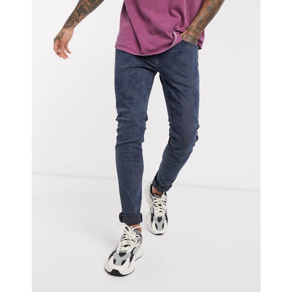 リーバイス Levi's メンズ ジーンズ・デニム ボトムス・パンツ【skinny tapered fit jeans in amalfi coast dark acid wash】Amalfi coast