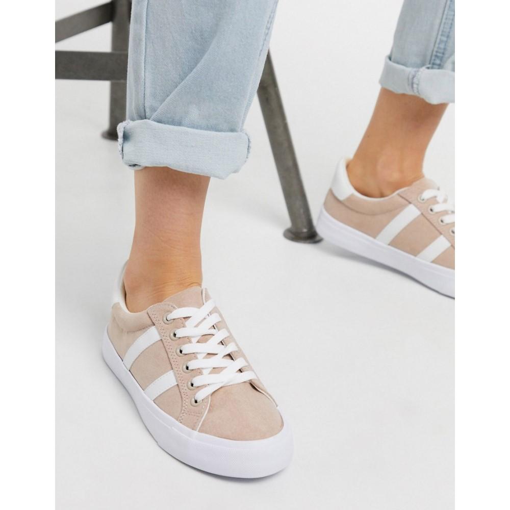 ミス セルフリッジ Miss Selfridge レディース スニーカー シューズ・靴【trainers in pink】Beige