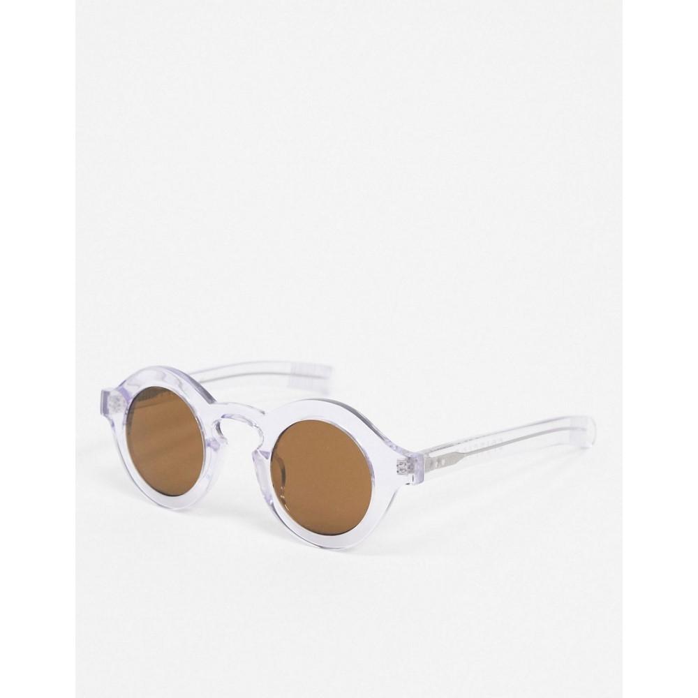 スピットファイア Spitfire メンズ メガネ・サングラス 【Cut Twelve circular sunglasses in clear】Clear