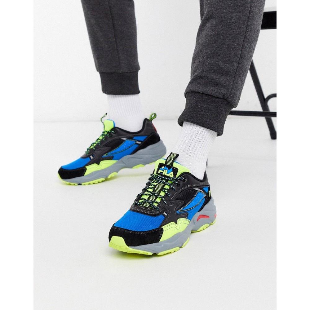 フィラ Fila メンズ フィットネス・トレーニング スニーカー シューズ・靴【Trail Tracer trainer in electric blue】Blue
