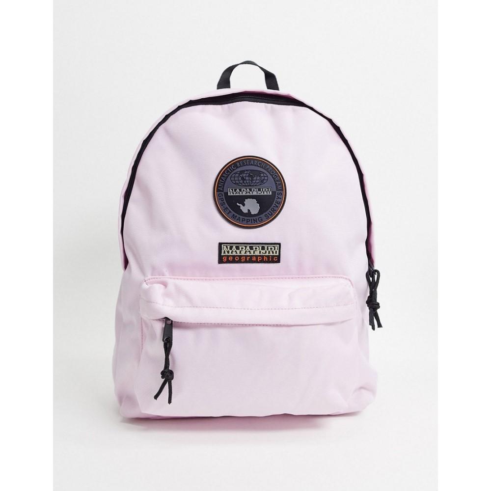 ナパピリ Napapijri レディース バックパック・リュック バッグ【Voyage backpack in light pink】Pink