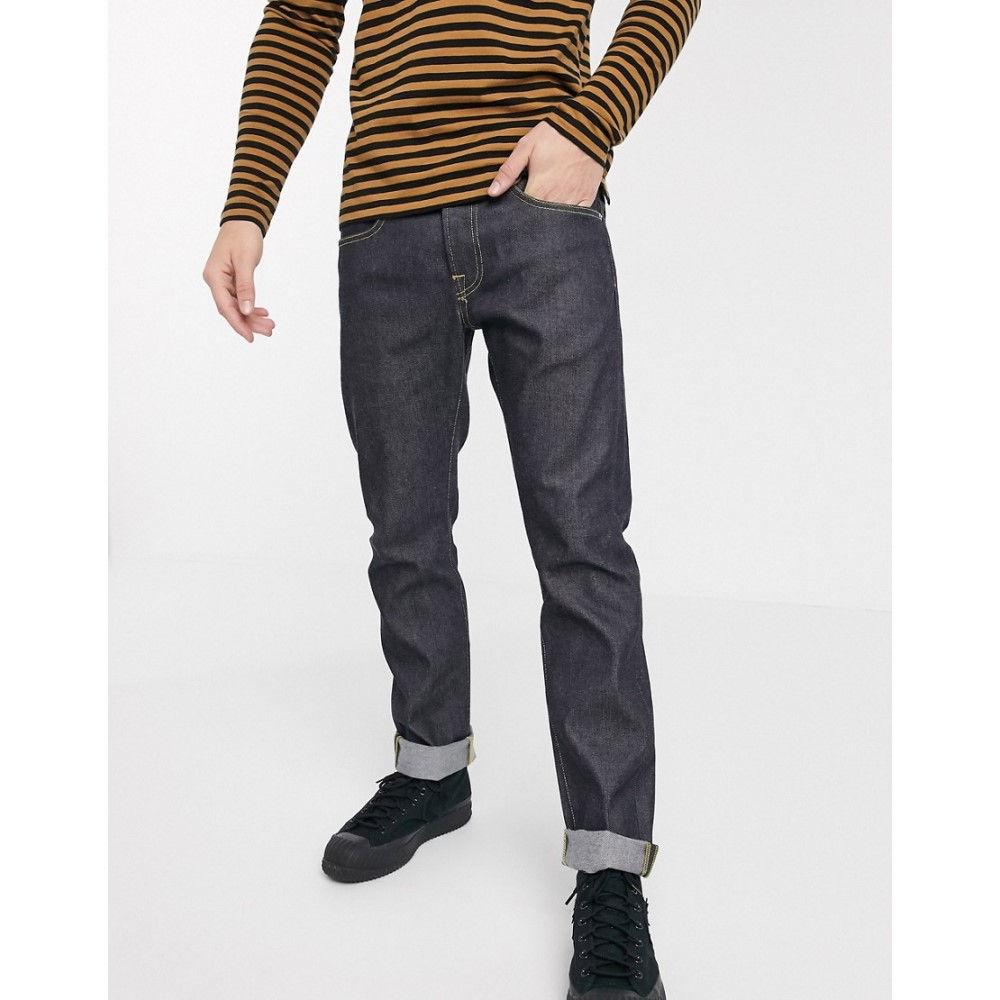エドウィン Edwin メンズ ジーンズ・デニム ボトムス・パンツ【ED55 regular tapered fit jeans in raw denim】Unwashed