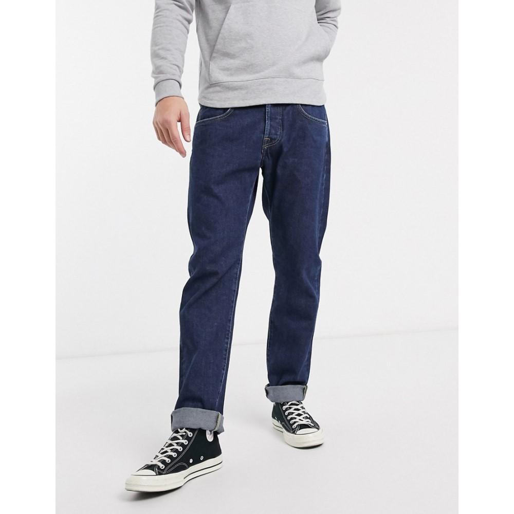 エドウィン Edwin メンズ ジーンズ・デニム ボトムス・パンツ【ED55 regular tapered fit jeans in rinsed denim】Akira wash