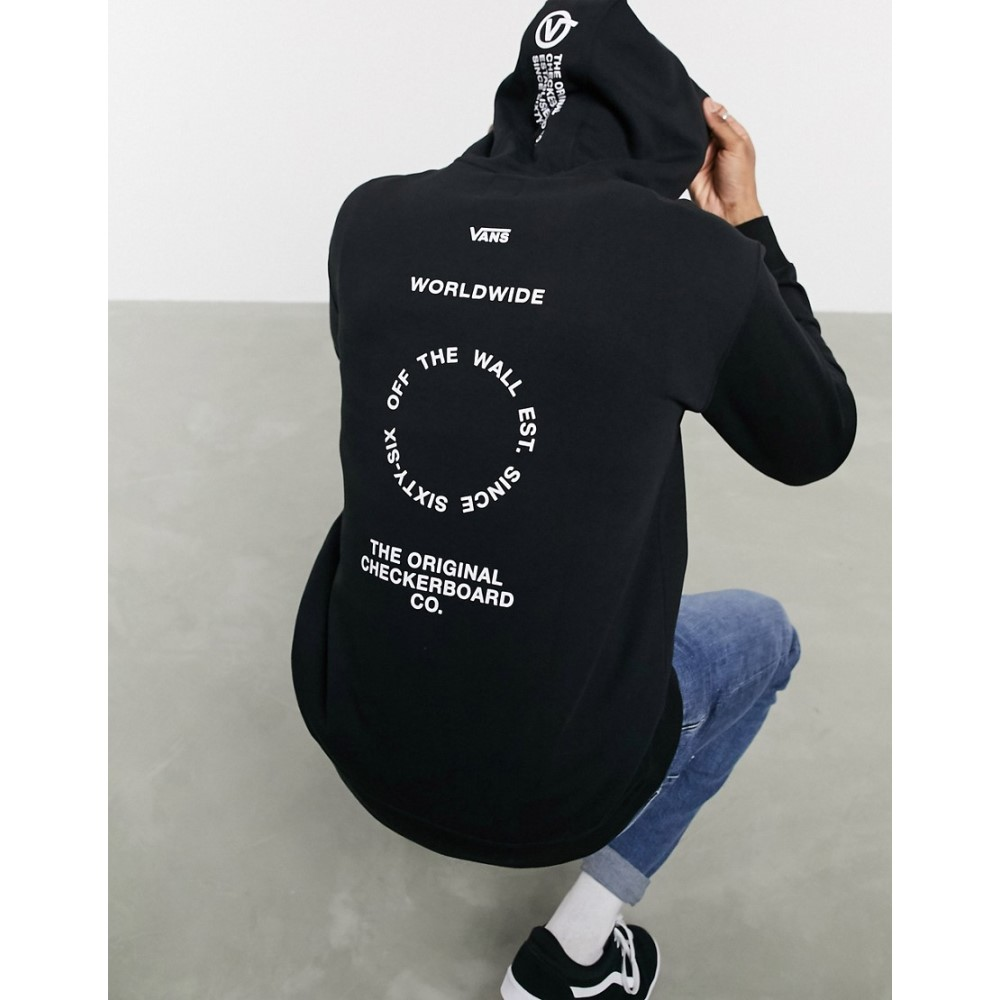 ヴァンズ Vans メンズ パーカー トップス【Distort Type hoodie in black】Black