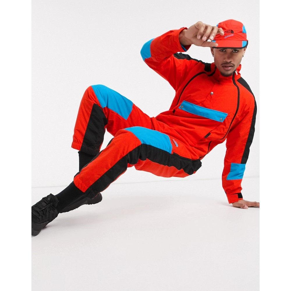 ザ ノースフェイス The North Face メンズ スーツ・ジャケット アウター【92 Extreme wind suit in red】Fiery red combo