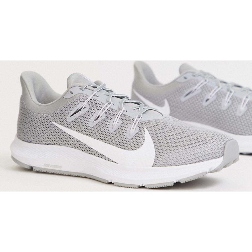 ナイキ Nike Running メンズ スニーカー シューズ・靴【Quest 2 trainers in grey】Grey