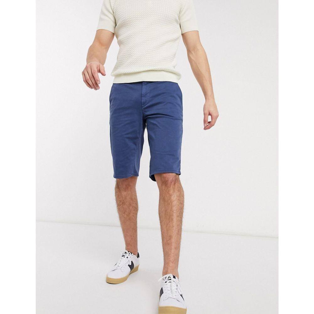 ヒューゴ ボス BOSS メンズ ショートパンツ ボトムス・パンツ【Schino slim fit shorts in navy】Navy