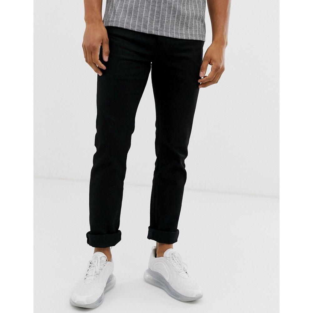 フレンチコネクション French Connection メンズ ジーンズ・デニム ボトムス・パンツ【slim black jeans】Black