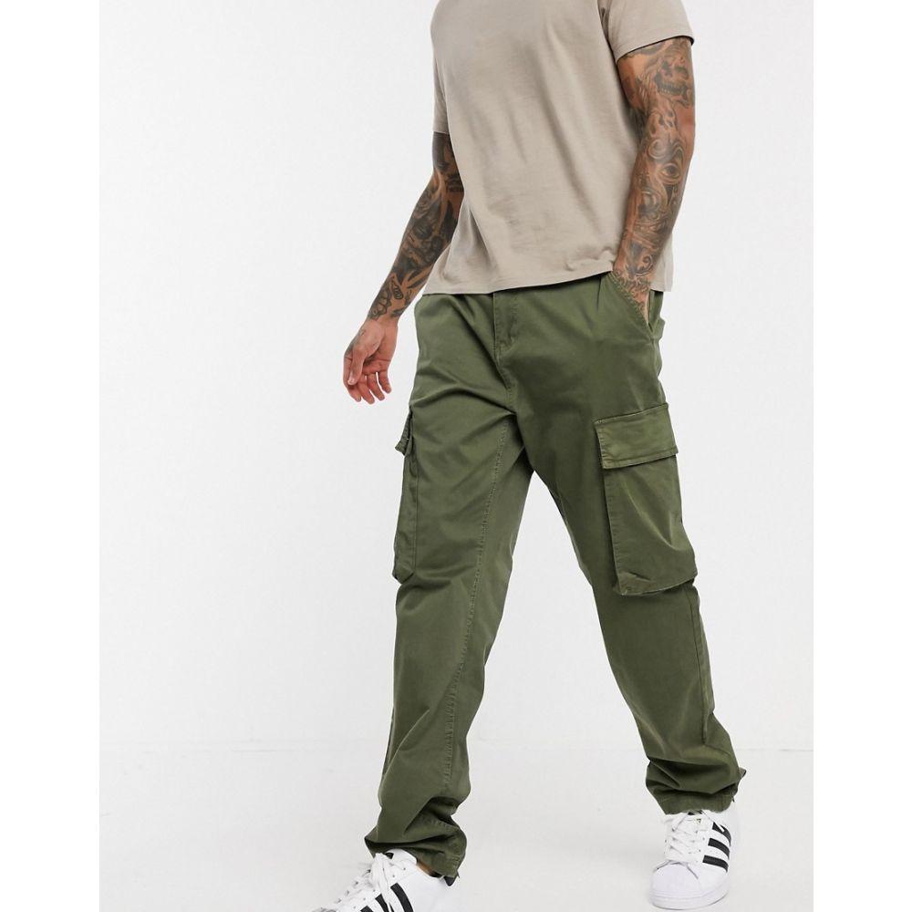 フレンチコネクション French Connection メンズ カーゴパンツ ボトムス・パンツ【slim fit cargo trousers】Green