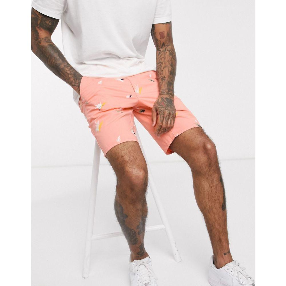 ファーラー Farah メンズ ショートパンツ ボトムス・パンツ【Hawk balearic chino shorts】Orange