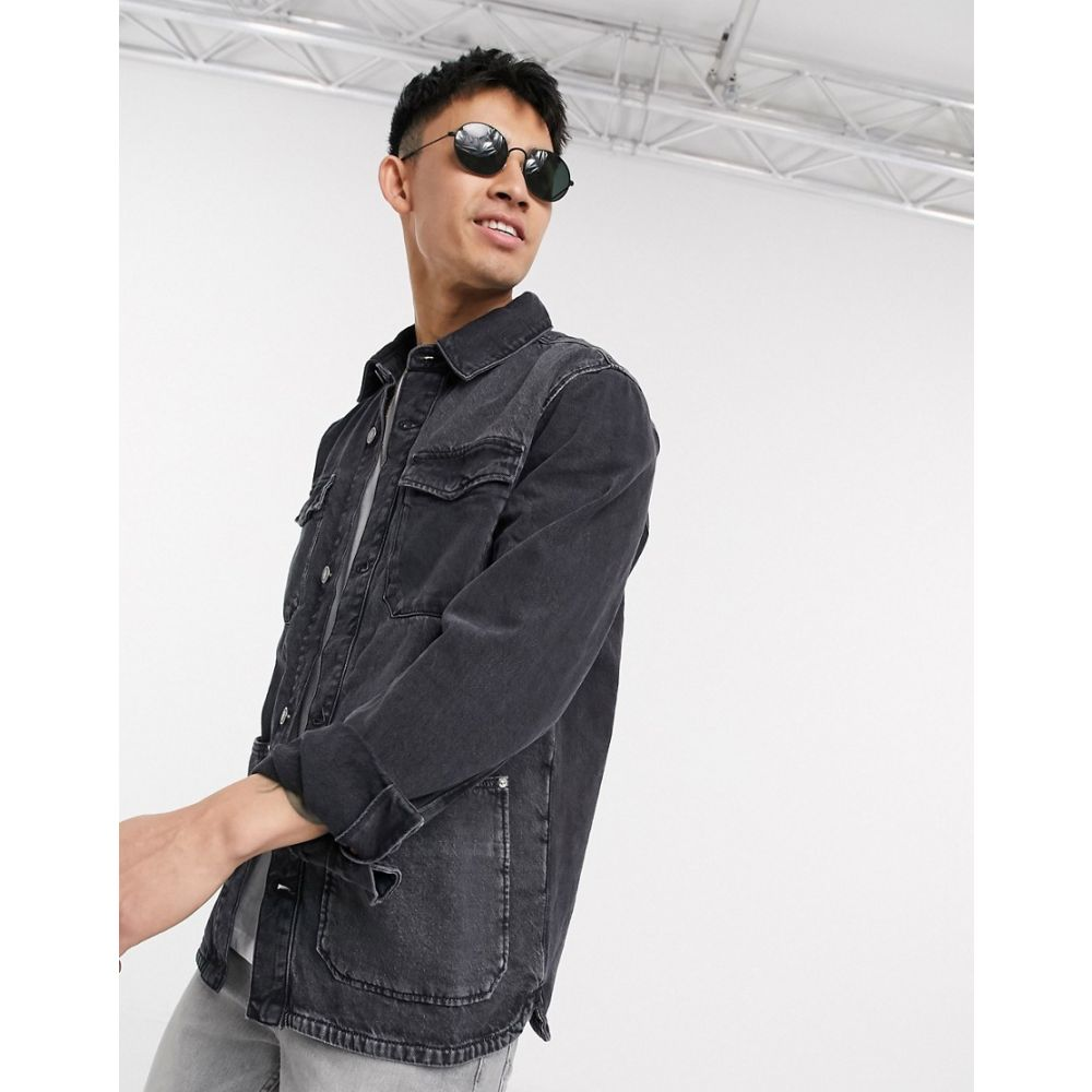 トミー ジーンズ Tommy Jeans メンズ ジャケット アウター【Tommy Hilfiger Jeans cargo jacket】Black
