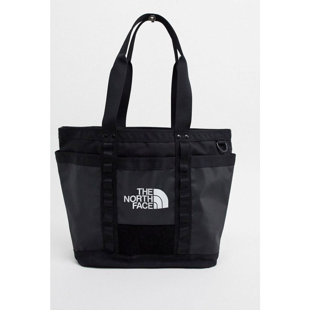 ザ ノースフェイス The North Face メンズ トートバッグ バッグ【Explore Utility tote bag in black】Tnf black/tnf black