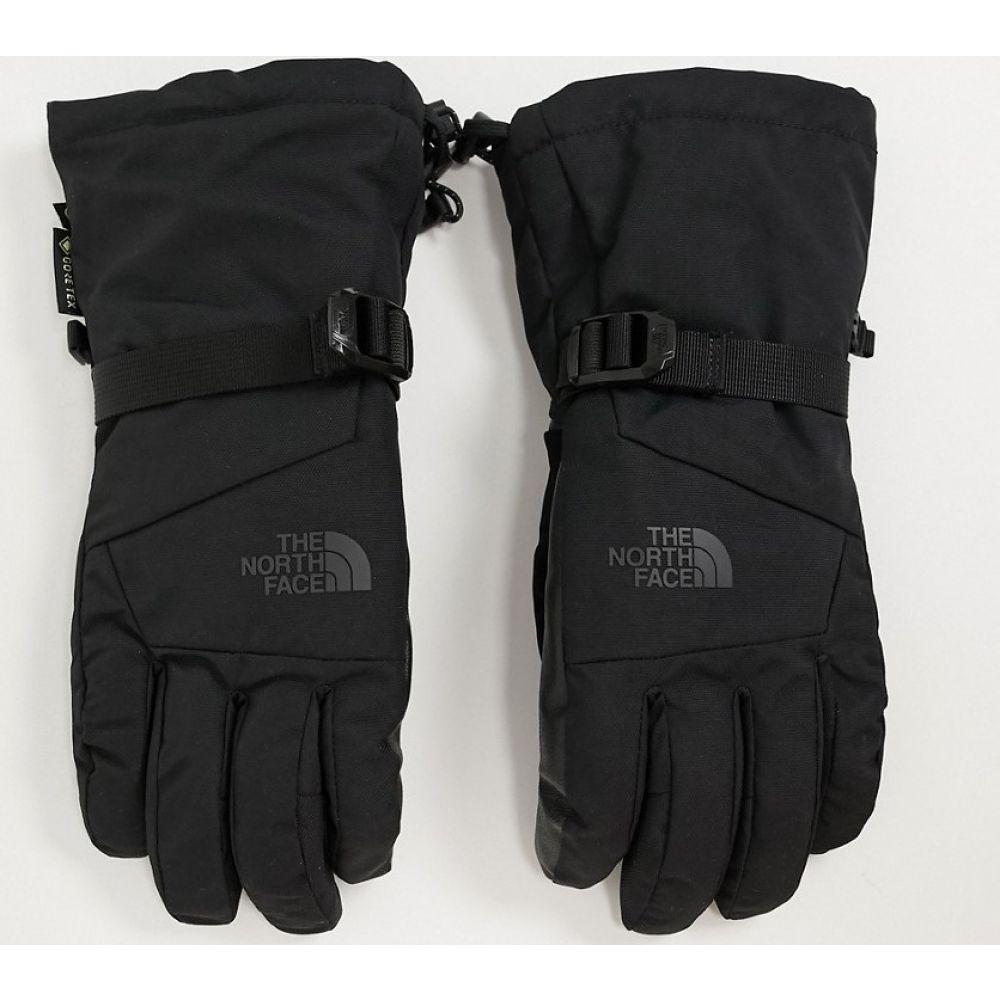 ザ ノースフェイス The North Face メンズ スキー・スノーボード グローブ【Montana Etip Gore-Tex ski gloves in black】Black