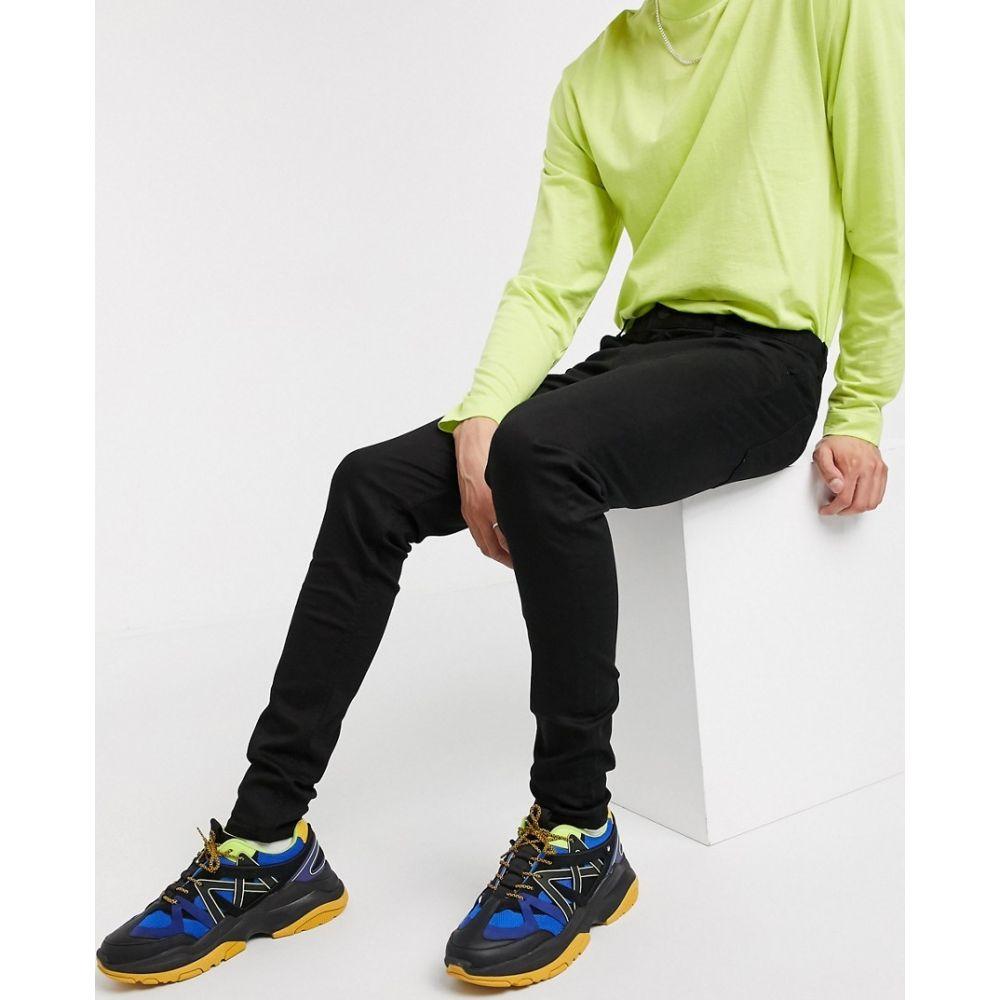 ウィークデイ Weekday メンズ ジーンズ・デニム ボトムス・パンツ【form stay skinny jeans in black】Black