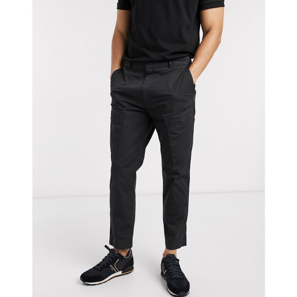 ヒューゴ ボス HUGO メンズ ボトムス・パンツ 【Fujo202D ripstop trousers in black】Black