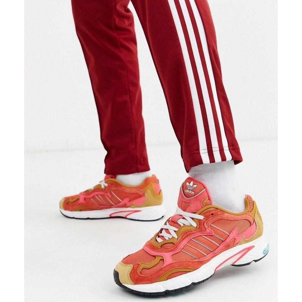 アディダス adidas Originals メンズ スニーカー シューズ・靴【Adidas Originals temper run trainers】Orange
